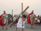 Encenações da 'Paixão de Cristo' encerram Semana Santa em Roraima