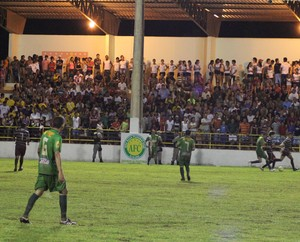 estádio Antônio Araújo Lopes em Epitaciolândia (Foto: Alexandre Lima/Arquivo Pessoal)