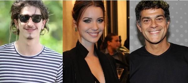 Johnny Massaro, Nathália Dill e Eduardo Moscovis participam da leitura de  (Foto: Ag News/ Gshow)
