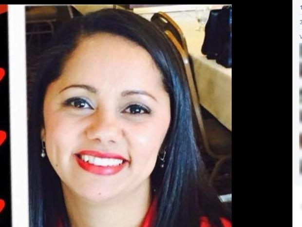 Alessandra Emiliano foi morta a tiros nos Estados Unidos (Foto: Reprodução / Facebook)