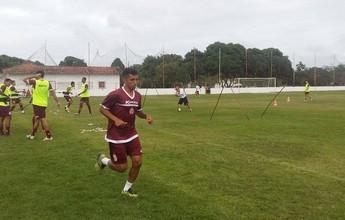 Thiago Potiguar é poupado no América-RN; goleiro volta a treinar