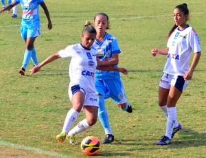 São José e Foz Cataratas, Campeonato Brasileiro de Futebol Feminino (Foto: Danilo Sardinha/Globoesporte.com)