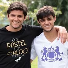 Felipe Simas estreia na TV ao lado do irmão Bruno Gissoni (Flor do Caribe / TV Globo)