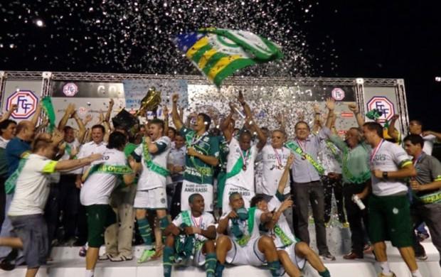 Goiás campeão estadual (Foto: Divulgação / Site Oficial da Federação Goiana de Futebol)