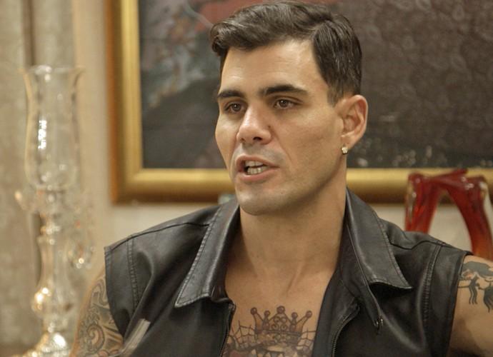 Merlô fica tenso com o resultado (Foto: TV Globo)