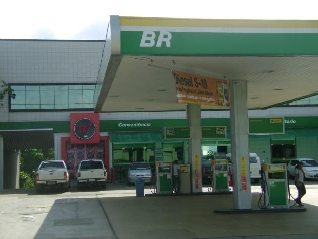 Boate Se7 divide espaço com conveniência de posto de gasolina (Foto: Duaine Rodrigues/G1)