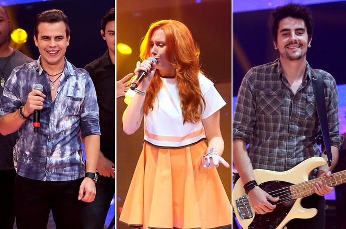 Kanoa, Georgia e Leo da Pagan John representam o Paraná no SuperStar (Foto: Globo/Divulgação)