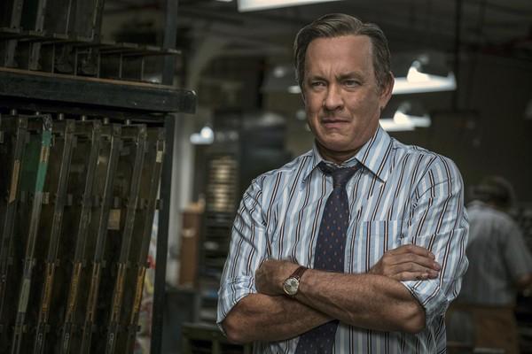 O ator Tom Hanks em cena do filme The Post - A Guerra Secreta (Foto: Reprodução)
