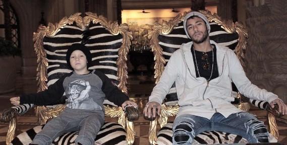 Com o filho, David:  (Foto: Reprodução/ Instagram)