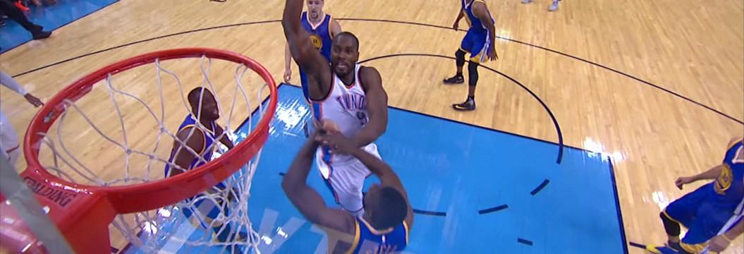 Oklahoma City Thunder vence o Golden  State Warriors no 3º jogo da série final da NBA (Gustavo Kastner/Agência Estado)