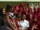 Michelle Obama chega a Londres para promover educação de meninas