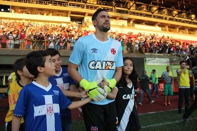 Martín Silva, goleiro do Vasco (Foto: João Paulo Maia)