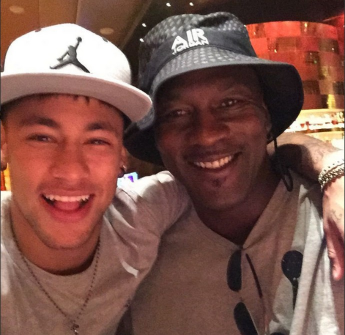 Neymar Michael Jordan (Foto: Reprodução / Twitter)
