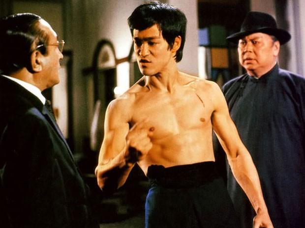 Bruce Lee em 'A fúria do dragão' (Foto: Divulgação)
