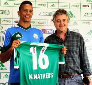 Apresentação Victorino e William Matheus Palmeiras (Foto: Marcos Ribolli)