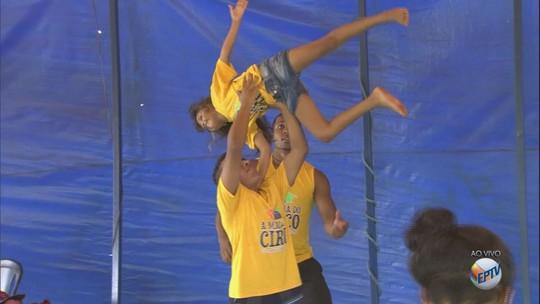Projeto em Sertãozinho oferece aulas gratuitas de circo; veja programação