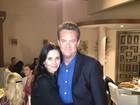 Chandler e Monica: casal de 'Friends' se reencontra na gravação de seriado