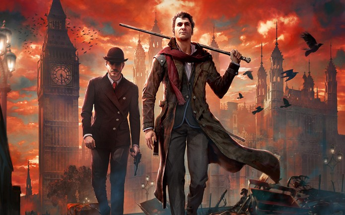 Sherlock e o Dr Watson em busca da verdade em Sherlock Holmes: The Devils Daughter (Foto: Divulgação/Frogware)
