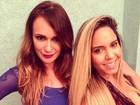 'Sou Maria Chuteira', admite Mulher Melão em entrevista para programa