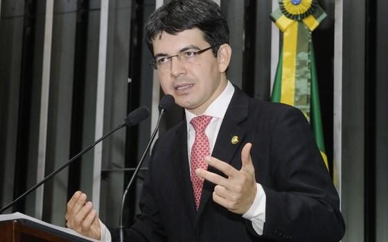 O senador Randolfe Rodrigues (Foto: Agência Senado)