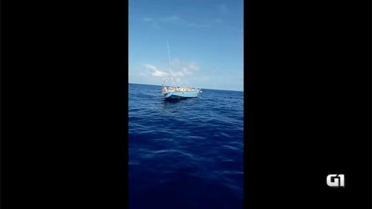 Veleiro francês sem tripulação é encontrado na costa do RN; veja vídeo