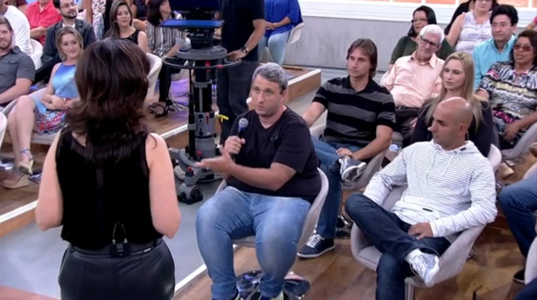 Rodrigo Alves conta a sua história no programa Encontro com Fátima Bernardes (Foto: Reprodução/TV Tribuna)