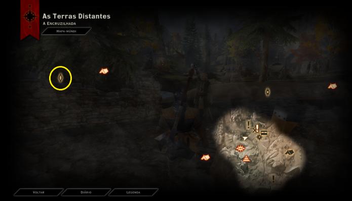 A missão do Cavalariço-mor fica na parte superior esquerda da tela (Foto: Reprodução/Paulo Vasconcellos)