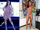 De parabéns! Com malhação e dieta, Renata Santos exibe cinturinha