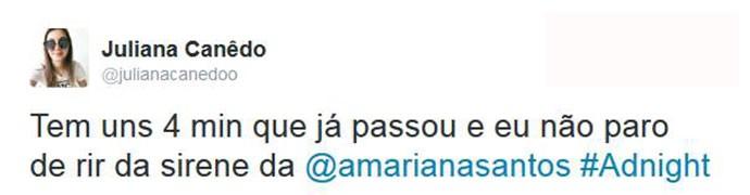 Público se divertiu com Mariana Santos no Adnight (Foto: Reprodução)
