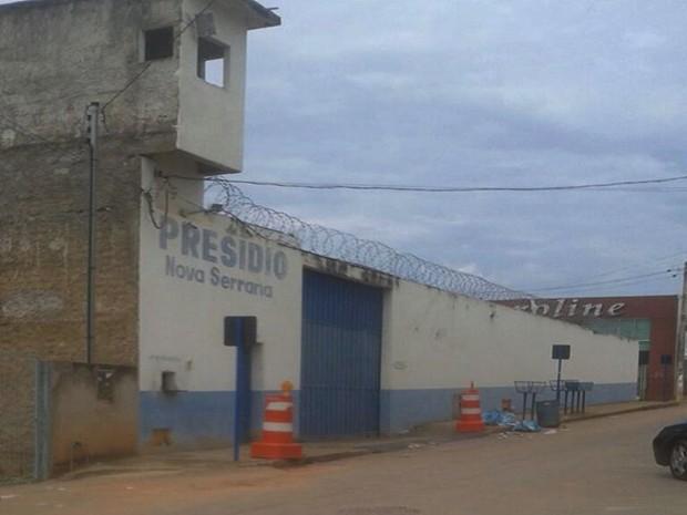 Presídio de Nova Serrana  (Foto: Mário Cardoso/Divulgação)