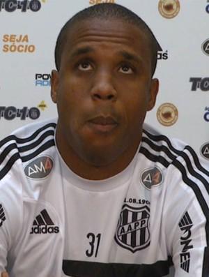 Borges atacante Ponte Preta (Foto: Reprodução / EPTV)