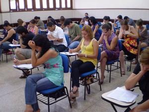 Concurso público, prova, ifap, Amapá, (Foto: Lena Marinho/Divulgação/Ifap)