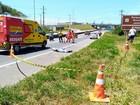 Homem morre atropelado por caminhão na Rodovia do Sol, no ES