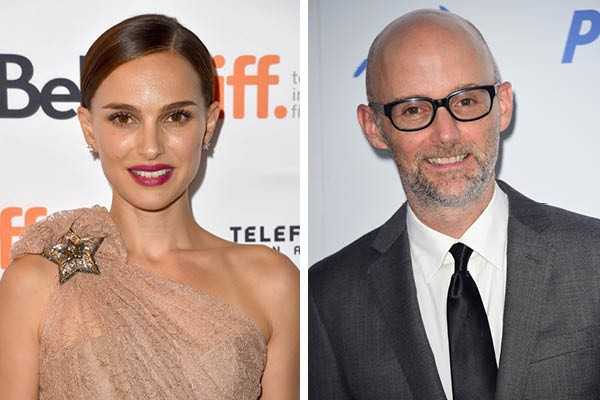 Natalie Portman e Moby (Foto: Getty Images)