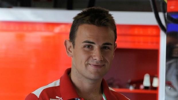 Italiano Davide Rigon participará de todos os dias do teste de novatos pela Ferrari (Foto: Divulgação)