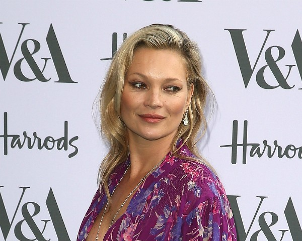 A modelo britânica Kate Moss (Foto: Fred Duval / Getty Images)