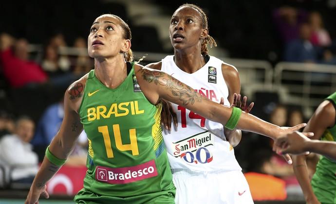 sancho lyttle erika brasil x espanha mundial basquete (Foto: Divulgação/FIBA)