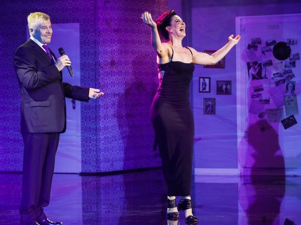 Miguel Falabella e Claudia Raia em evento em São Paulo (Foto: Marcos Ribas/ Foto Rio News)