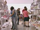Turistas aproveitam o feriado para comprar cerâmica em Porto Ferreira