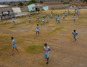 Ipanema, treino (Foto: Cleudson Nobre/Arquivo Pessoal)