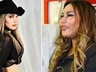 Vídeo: Rosanah 'deusa' chama atenção nos bastidores de show