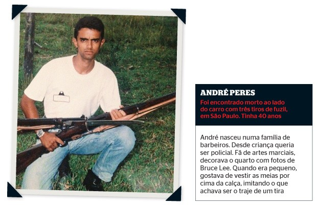 André Peres de Carvalho (Foto: álbum de família)