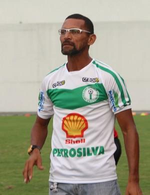 Sérgio Duarte técnico do Iranduba (Foto: Gabriel Mansur)