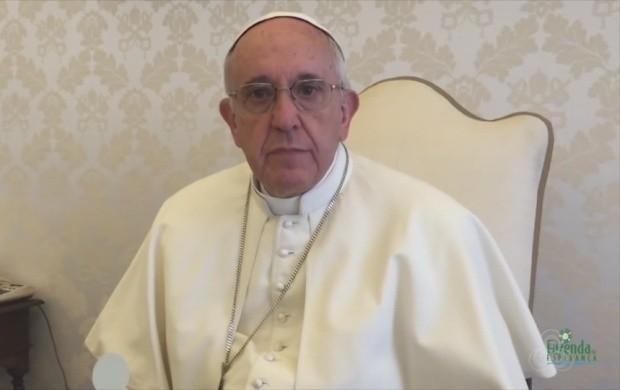 Papa envia mensagem de incentivo para jovens atendidos pela fazenda Esperança em RR (Foto: Bom Dia Amazônia)