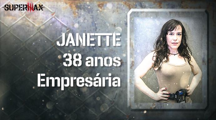 Supermax: perfil da participante Janette (Foto: Gshow)