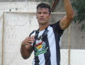 Eraldo, atacante do Atlético-ES (Foto: Karen Porto/CA Itapemirim)