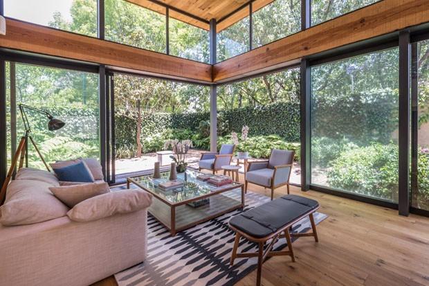 Uma casa para viver a natureza intensamente (Foto: CCúbica/Divulgação)