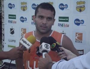 Renatinho Potiguar, do ABC (Foto: Tiago Menezes/GLOBOESPORTE.COM)