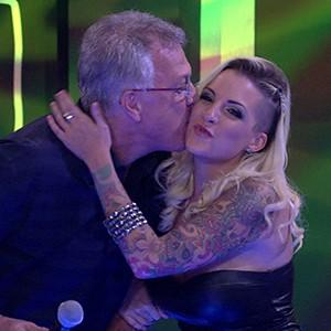 Clara terceiro lugar palco 300x300 (Foto: BBB / TV Globo)