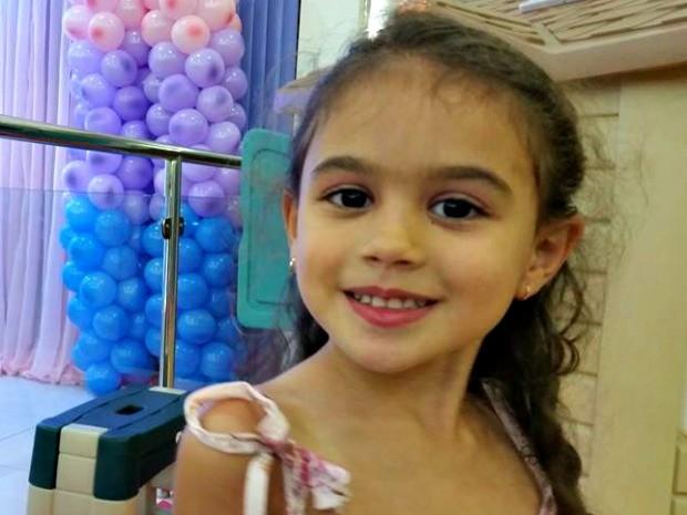 Geovana Hadad, morta em acidente, iria fazer quatro anos nesta quinta-feira (22) (Foto: Arquivo pessoal )